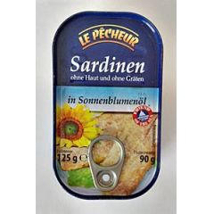Le Pecheur Sardinen 125g