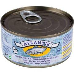 Atlantik Thunfischstücke in Öl 130g