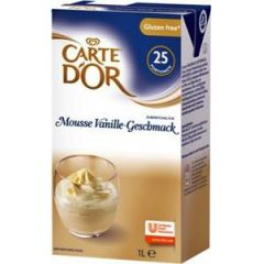 Carte D'Or Vanille Mousse 1 ltr.