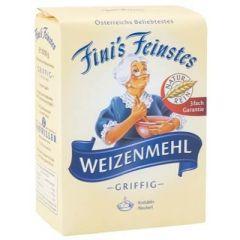 Fini´s Feinstes Weizenmehl T480 1kg, griffig