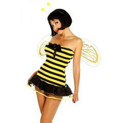 Bienenkostüm gelb/schwarz Größe 2XL