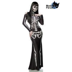 Skeleton Lady schwarz/weiß Größe XS-M