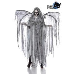 Todesengelkostüm: Angel of Death grau Größe OS