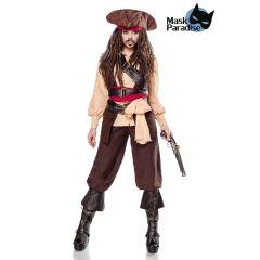 Miss Captain of the Caribbean braun Größe M