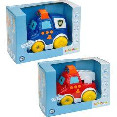 SpielMaus Baby Press & Go Fahrzeuge, sortiert, 1 Stück