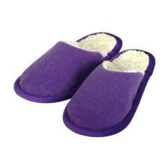 Pantoffel Loden lila 36/37