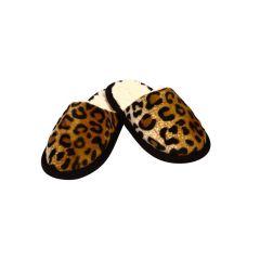 Pantoffel Tieroptik Gepardfell 42/43