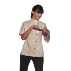 Ladies Chef Jacket Greta Cream 42
