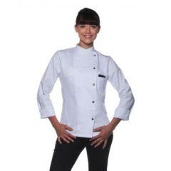 Ladies Chef Jacket Larissa White 38