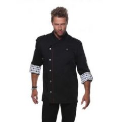 Fashionable Rock Chef`s Jacket Black 48 (M)