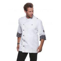 Fashionable Rock Chef`s Jacket White 56 (XL)