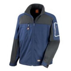 Work-Guard Sabre Stretch Jacket Navy/Black 4XL