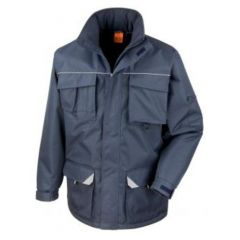 Work-Guard Sabre Long Coat Navy 2XL