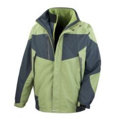 3-in-1 Aspen Jacket Aspen Green/Grey S