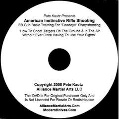 American Instinctive Rifle Shooting