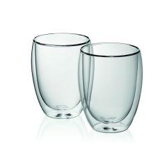 Kela Latte-Macchiatoglas Cortona 2er Set doppelwandige gläser set kaffetasse