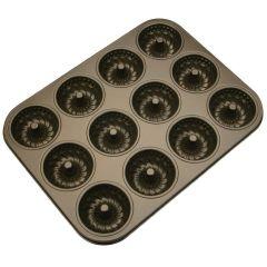 Gugelhupf Backform für 12 Stück 489110 Backform antihaftbeschichtet Guglhupf Muffinform