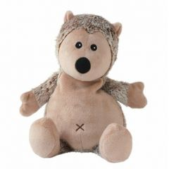 Warmies Beddy Bear Igel braun meliert Kuscheltier Wärmflasche Wärmekissen Wärmekuscheltier Wärmetier