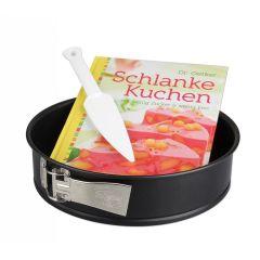Schlanke-Kuchen-Set Backform Kuchenform 26 cm Backset Kuchenlöser Backbuch