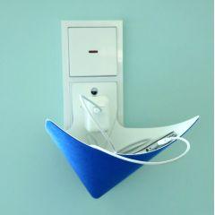 Load-Ding Ladeschale blau Handy Ladestation Smartphone MP3-Player Handyladestation Aufladestation