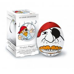 Piepei Piraten Piep Ei Eierkocher Eieruhr 3 in 1 Frühstücksei Eier kochen Shanty Freibeuter