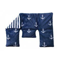 Neck Warmer Comfort Maritim Warmies Nackenwärmer Körnerkissen Wärmflasche Rückenwärmer Nierenwärmer