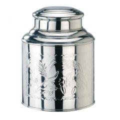 Teedose groß 1 kg Edelstahl Vorratsdose Kaffeedose Teedose Behälter Box mit Deckel Gewürzdose Teebox
