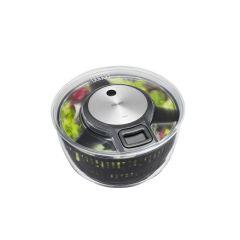 Gefu Salatschleuder Speedwing Salatkarussell Seilzug Edelstahl Salatschüssel