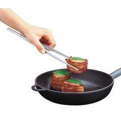 Brat- und Wendepinzette Grillzange Bratpinzette Pinzette Bratenwender Kochpinzette Küchenpinzette