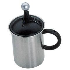 Milchaufschäumer Milchschäumer Milch aufschäumen für Herd Creamer Cappuccino Latte Macchiato