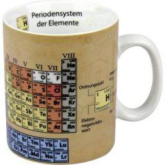 Becher Chemie Tasse Porzellan Naturwissenschaften Schule Periodensystem