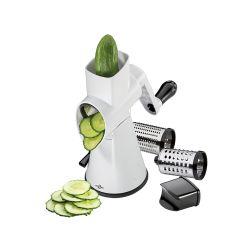 Küchenprofi Trommelreibe Rapid Edelstahl Küchenreibe Käsereibe Gemüsereibe Reibe
