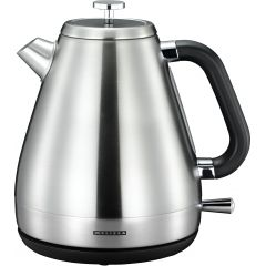 Melissa Wasserkocher Edelstahl gebürstet 1.7L 2200 Watt Teekocher Teekessel
