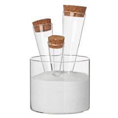 Endlich Sommer Sommersand Glasschale Gläser Sand Dekosand Dekoration Glas Gewürzständer