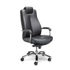 Schwerlastdrehstuhl Bodo Echtleder 150kg Bürostuhl Chefsessel Schreibtischstuhl