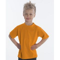 SNAP T-Shirt Basic-Line Kids, Gr. 116, Farbe orange