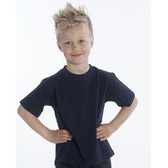 SNAP T-Shirt Basic-Line Kids, Gr. 128, Farbe schwarz