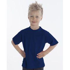 SNAP T-Shirt Basic-Line Kids, Gr. 116, Farbe navy