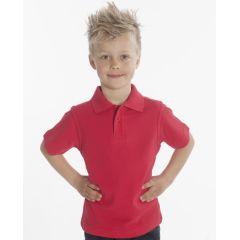 SNAP Polo-Shirt Top-Line Kids, Rot, Gr. 116