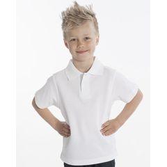 SNAP Polo-Shirt Top-Line Kids, Weiß, Gr. 116