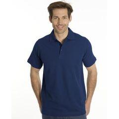 SNAP Polo Shirt Star - Gr.: L, Farbe: navy