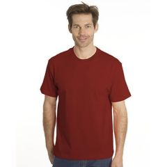 SNAP T-Shirt Flash-Line, Gr. 4XL, dunkelrot
