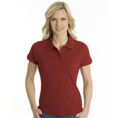 SNAP Polo Shirt Top-Line Women dunkelrot, Grösse 3XL
