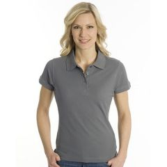 SNAP Polo Shirt Top-Line Women stahlgrau, Grösse XL