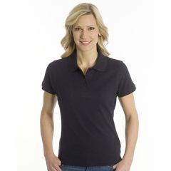 SNAP Polo Shirt Top-Line Women schwarz, Grösse 2XL