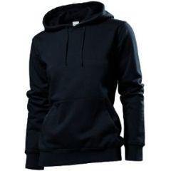 Stedman Hooded Sweatshirt Women, schwarz, Grösse S