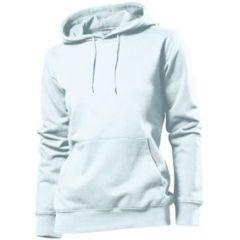 Stedman Hooded Sweatshirt Women, weiss, Grösse L