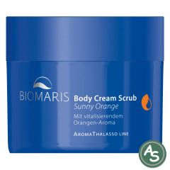Biomaris AromaThalasso Body Cream Scrub Sunny Orange - 250 gr.