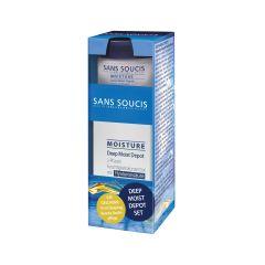 Sans Soucis Moisture Deep Moist Depot 30 ml + Gratis Sleeping Beauty Nachtcreme 15 ml