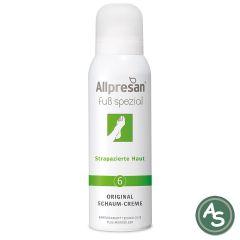 Allpresan Fuss-Schaum-Creme Strapazierte Haut (Nr 6) - 125 ml